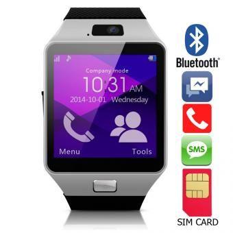 310ef075aa3 Reloj Inteligente Camara tipo GEAR 2 Sim Card, Android, IOS, Bluetooth, Smart  watch - Plateado