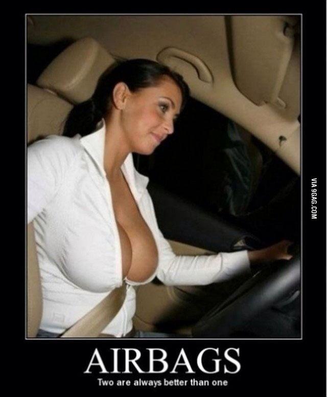 Boob air bag