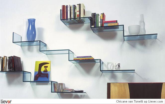 Boekenplank Van Glas.Boekenplank Van Glas Ideeen Voor Het Huis Boekenplank