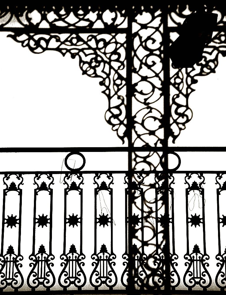 New Orleans Iron Railing Graphic Google Search With Images
