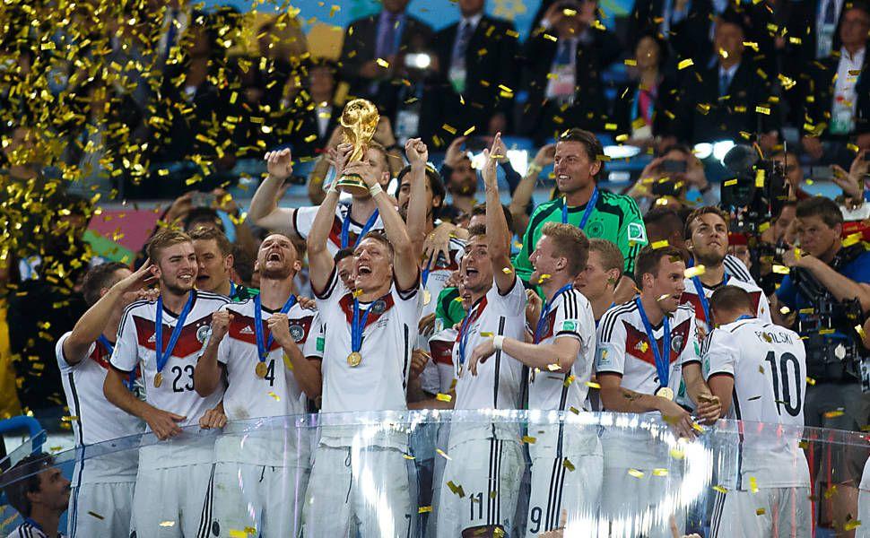 Alemania Campeón del mundo en Brasil 2014