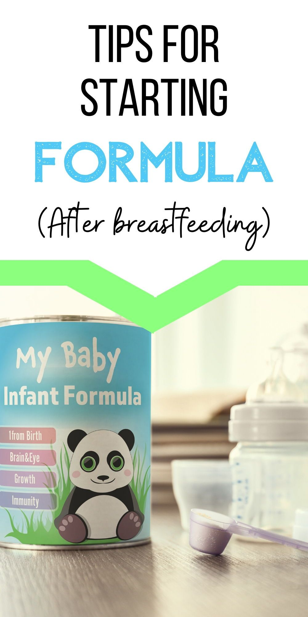 4 simple tips for switching from breastmilk to formula in