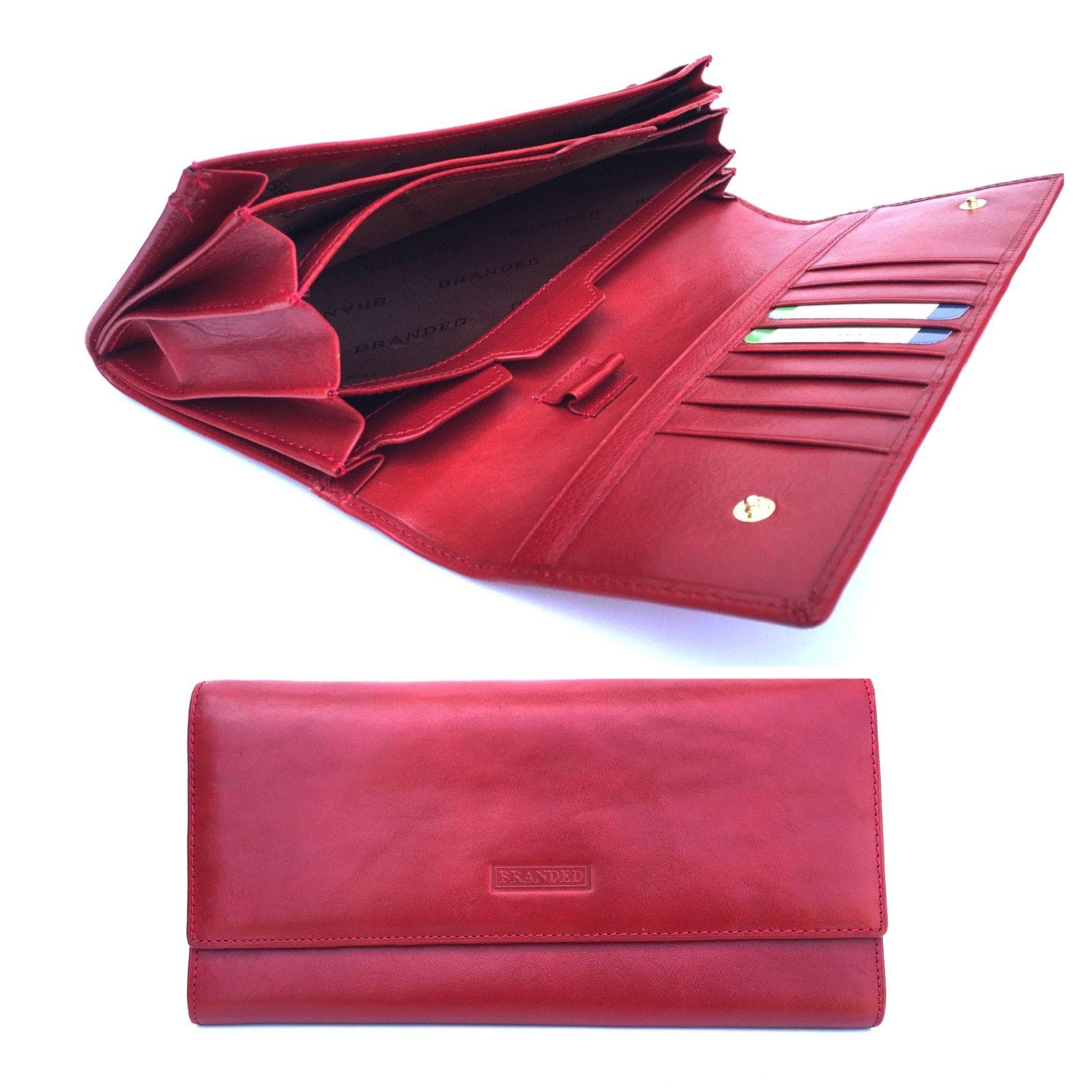 Golunski SR 918 Luxury Leather Travel Wallet Document,Passport Holder In Red from Baked Apple UK