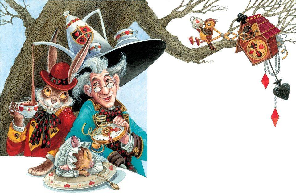 çizgili masallar: Alice in Wonderland by Maxim Mitrofanov
