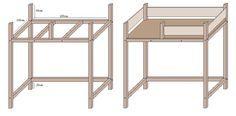 hochbett selber bauen kinderzimmer pinte. Black Bedroom Furniture Sets. Home Design Ideas