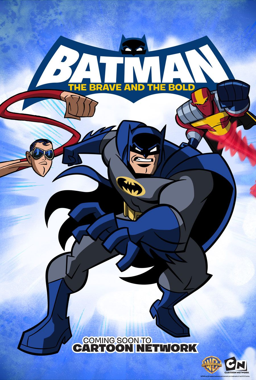 And Of Course The Batman Poster With Images Cartoon Tv Shows
