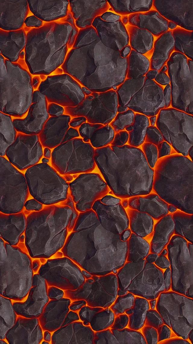 Lava texture by XxAries1970xX [2160x3840]