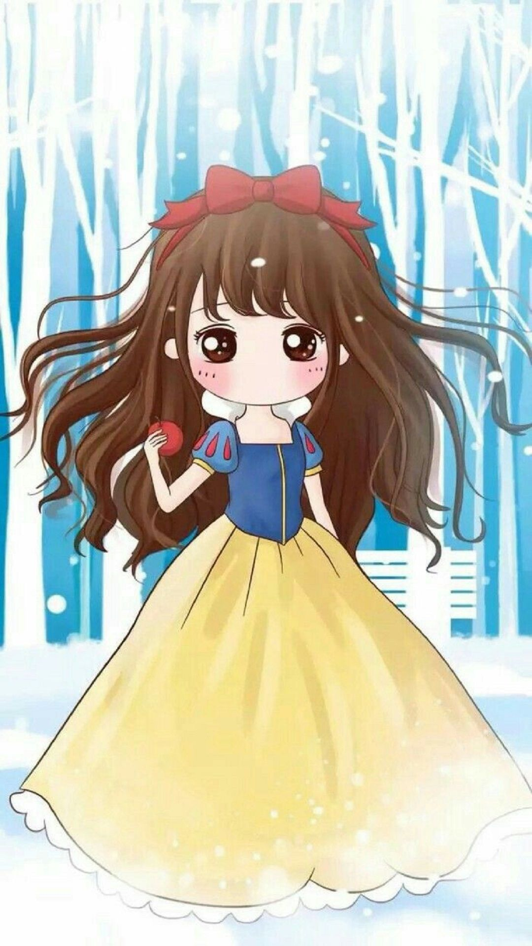 Snow White Tap to see more cute chibi kawaii girl