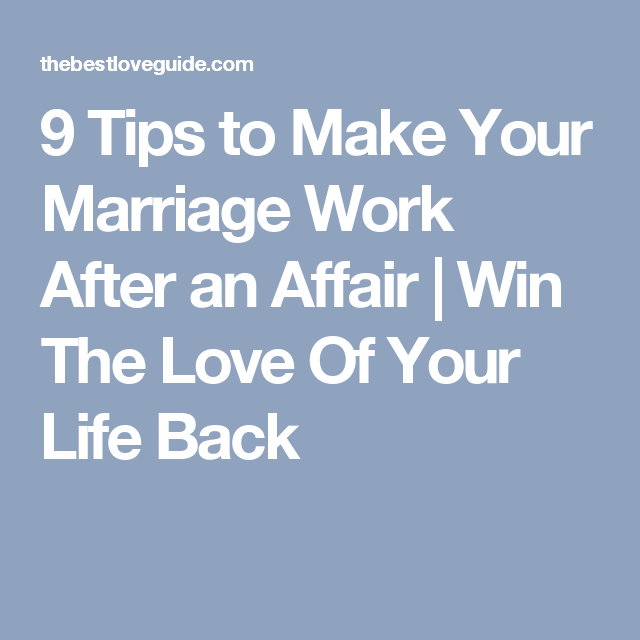 how to fall back in love after infidelity