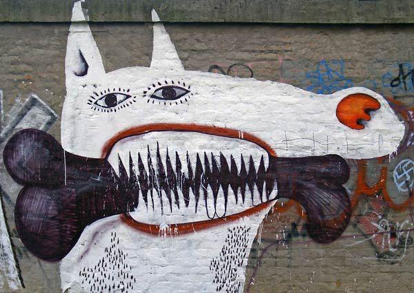//mural in Tuzla, Bosnia-Herzegovina