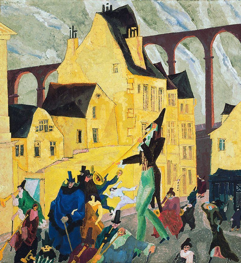 Neue Galerie New York On Instagram Add A Little Pep To Your Step As We March Into The Weekend With A Carnival Scene Art Institute Of Chicago Art Art History