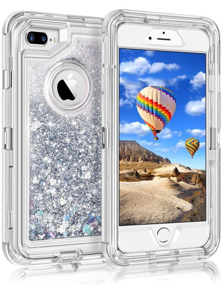 3d glitter iphone 7 case
