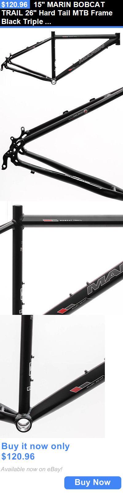 bicycle parts: 15 Marin Bobcat Trail 26 Hard Tail Mtb Frame Black ...