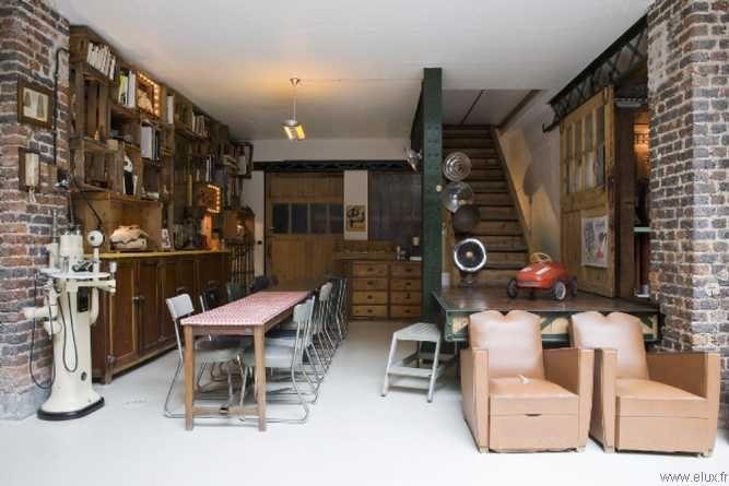 Chambre style loft industriel recherche google neuville chambre jeunes pinterest lofts - Chambre style loft industriel ...