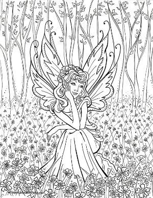Everyone Deserves A Perfect World Fairy Coloring Pages Unicorn Coloring Pages Fairy Coloring