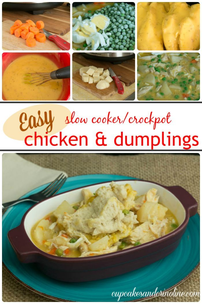 Crockpot Chicken And Dumplings The How To Home