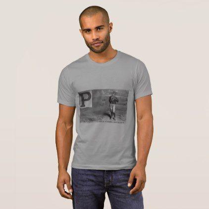 #vintage - #Baseball Player Initial P Rhyme Vintage Pitcher T-Shirt