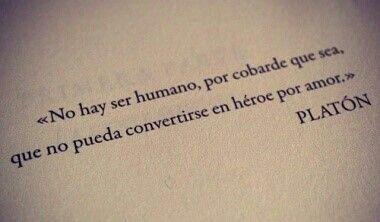 Se puede ser un héroe.