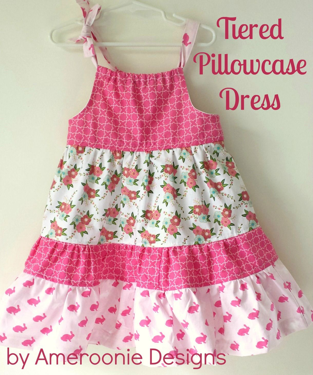 Pillowcase Dress With Band Tutorial: More than 25 Bunny Inspired Sewing Projects   Pillowcases    ,