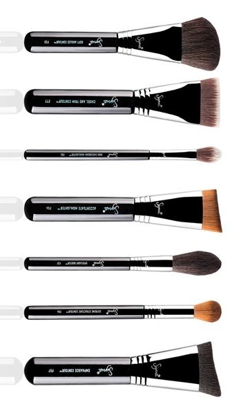Sigma Beauty Complete Highlight Contour Luxe Brush Set 158