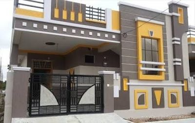 Exterior Wall Design Modern House Front Facade Design Ideas 2020 In 2020 Small House Elevation Design Single Floor House Design Small House Elevation