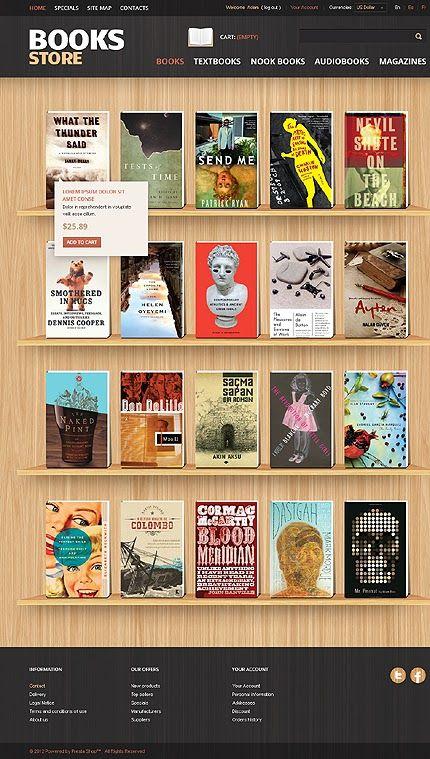 Book Store Blogger Template Amazing Blogger Templates Blogger