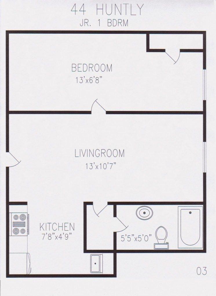450 Sq Ft Floor Plan 450 Sq Feet Studio Apartment Floor Of