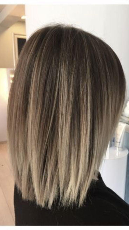 Darling Darling Haarschnitt Ideenschulterlang Schulterlange Haare Glatt Haarschnitt Frisuren Haarschnitte