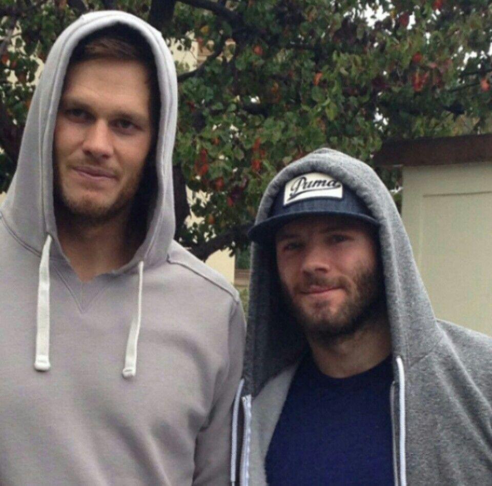 Tom Brady And Julian Edelman New England Patriots New England Patriots New England Patriots Football Patriots