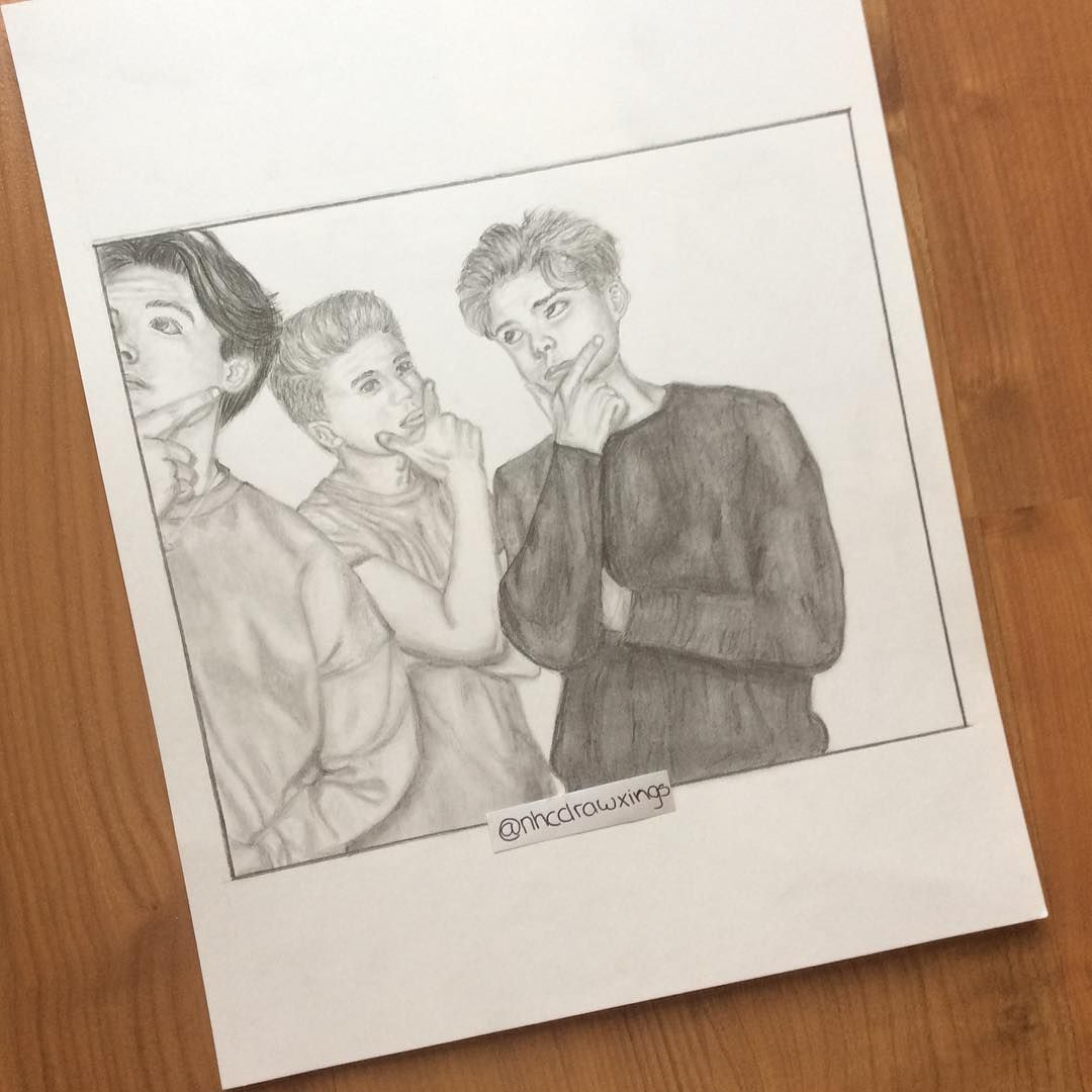 137 Likes 14 Comments Fanpage For New Hope Club Nhcdrawxings On Instagram Happy 19th Birthday Newhopereec New Hope Club New Hope Happy 19th Birthday