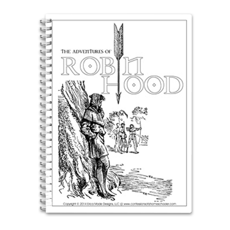 The Adventures of Robin Hood Unit Study PDF in 2020