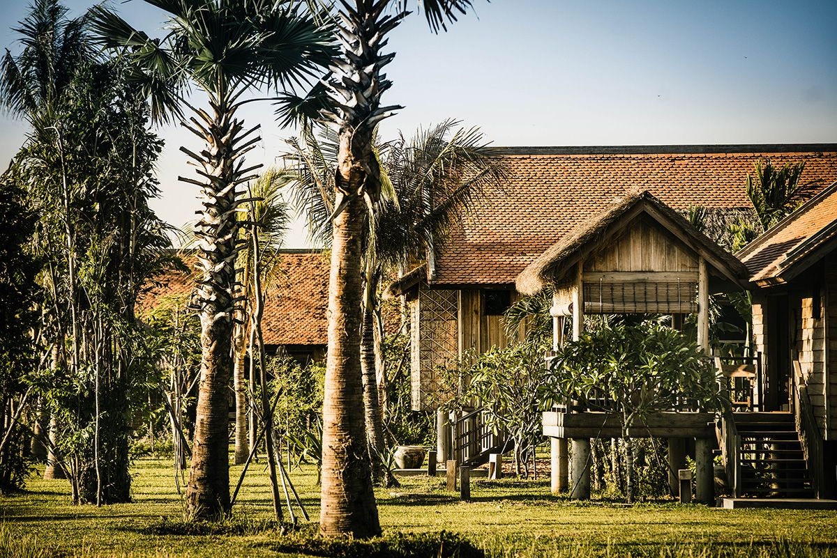 """therealbohemian: """" Phum Baitang, Siem Reap - it's a little mad out there these days, so I don't blame you for wanting to getting away. This gorgeous new spot in Cambodia looks like a good escape. """""""