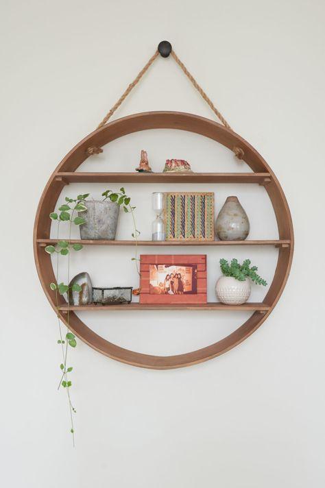 Round Wall Shelf World Market Home, Round Wall Shelf Decor Ideas