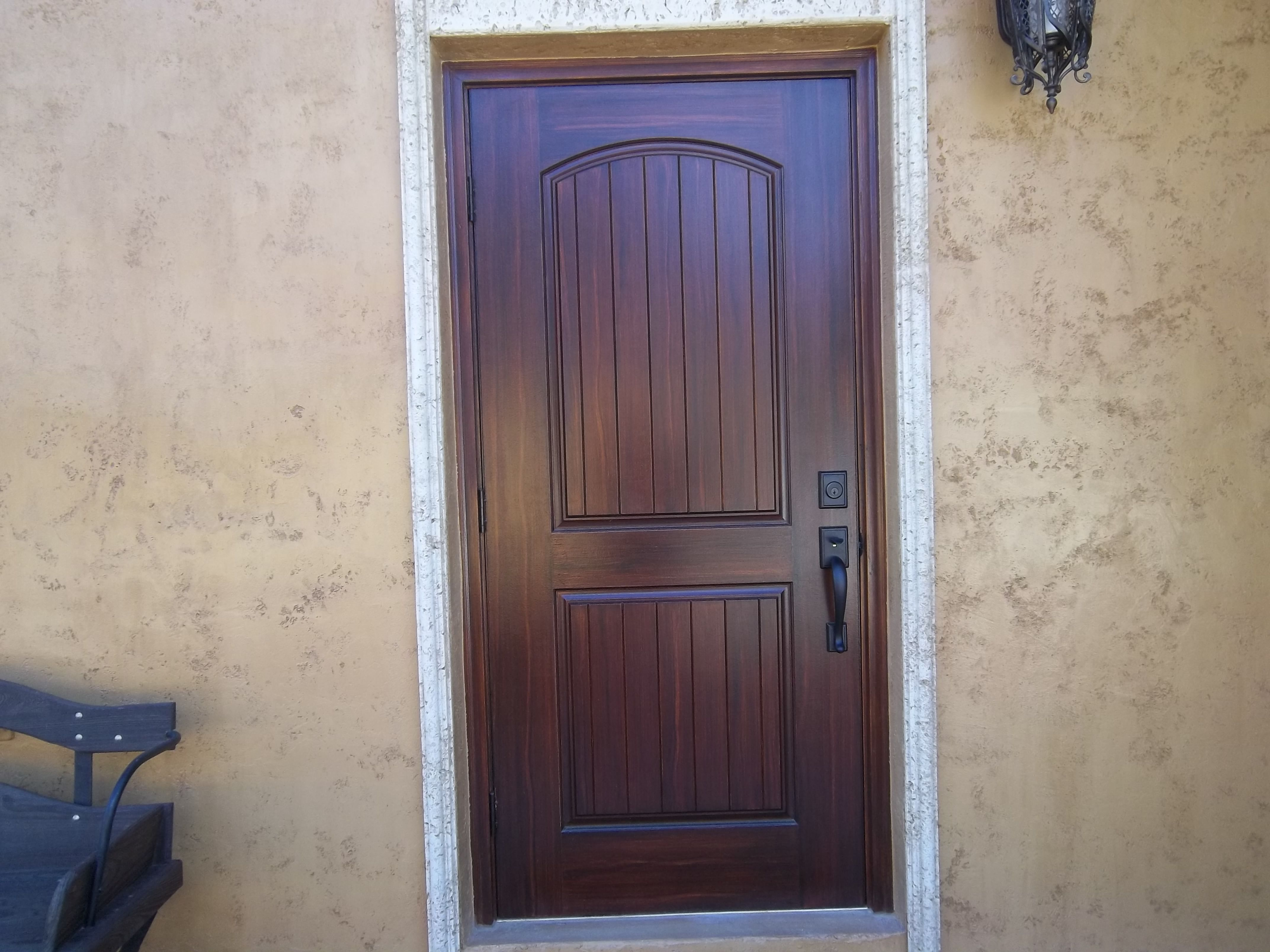 charming faux wood front doors #2: Wood Exterior Doors And Faux Wood Front Door