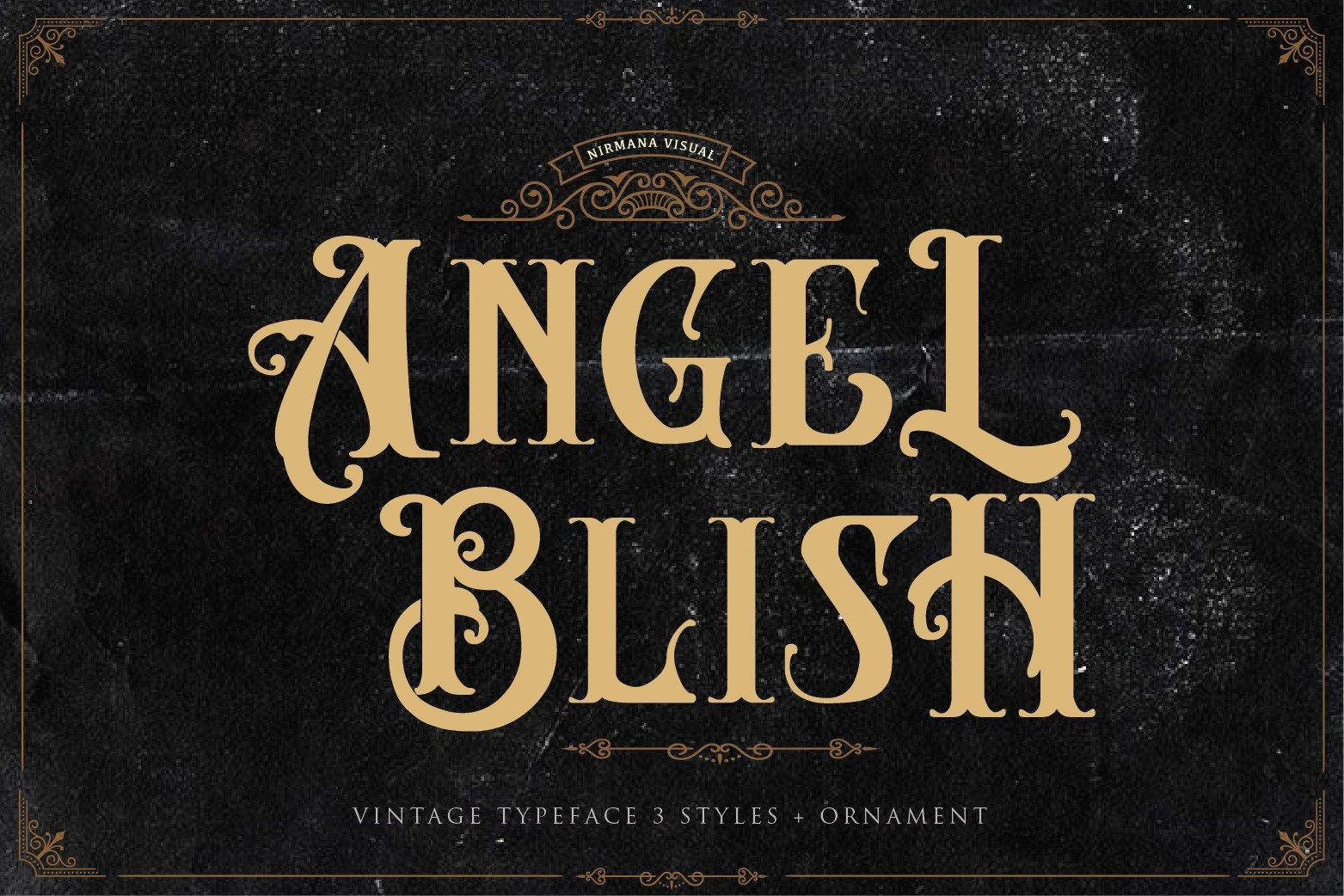 Angel Blish Vintage Font Free Design Resources Typeface Vintage Fonts Classy Fonts