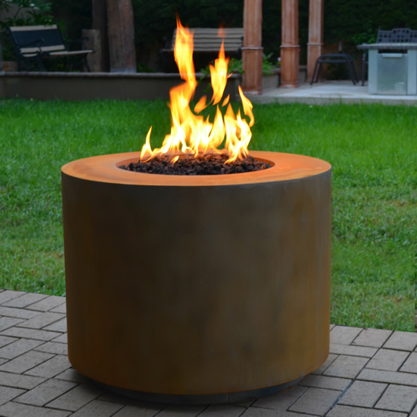 Beverly Corten Fire Pit The Outdoor Plus Woodlanddirect Com In 2020 Fire Pit Deck Fire Pit Round Fire Pit