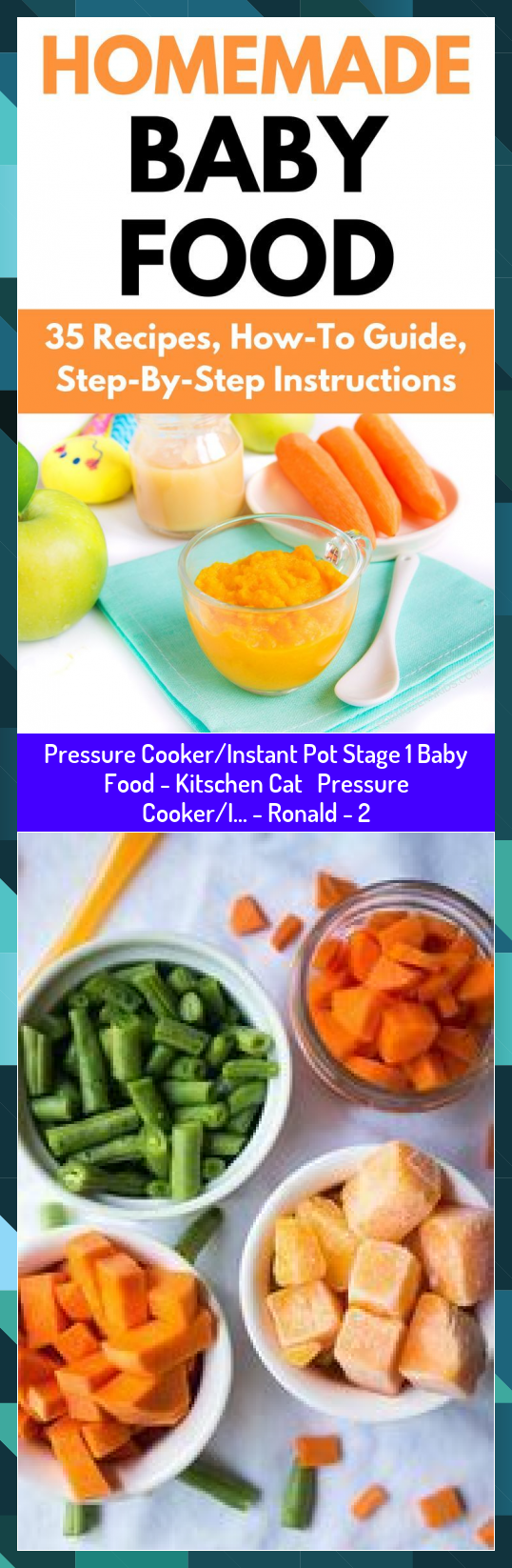 Pressure CookerInstant Pot Stage 1 Baby Food  Kitschen Cat Pressure CookerI  Ronald  2