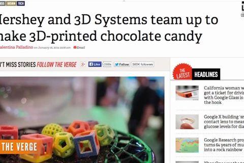 3d Printed Chocolate | Technology | Prints, Chocolate, Printer