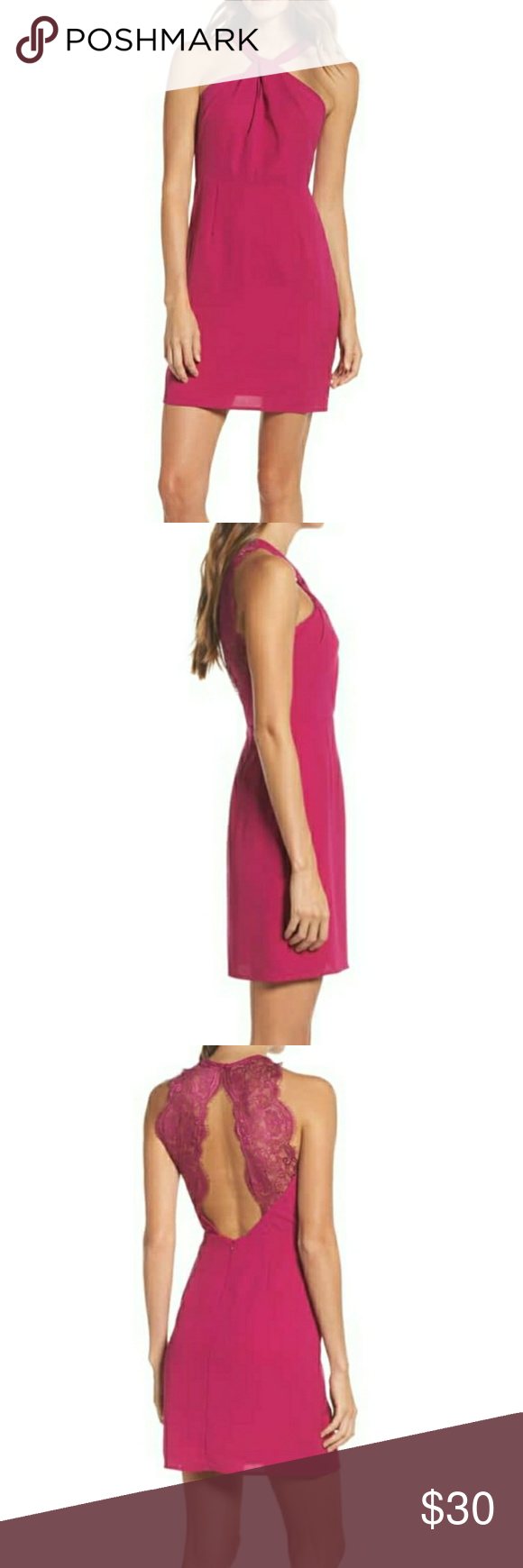 Nwt 19 Cooper Lace Back Sheath Dress Boutique My Posh
