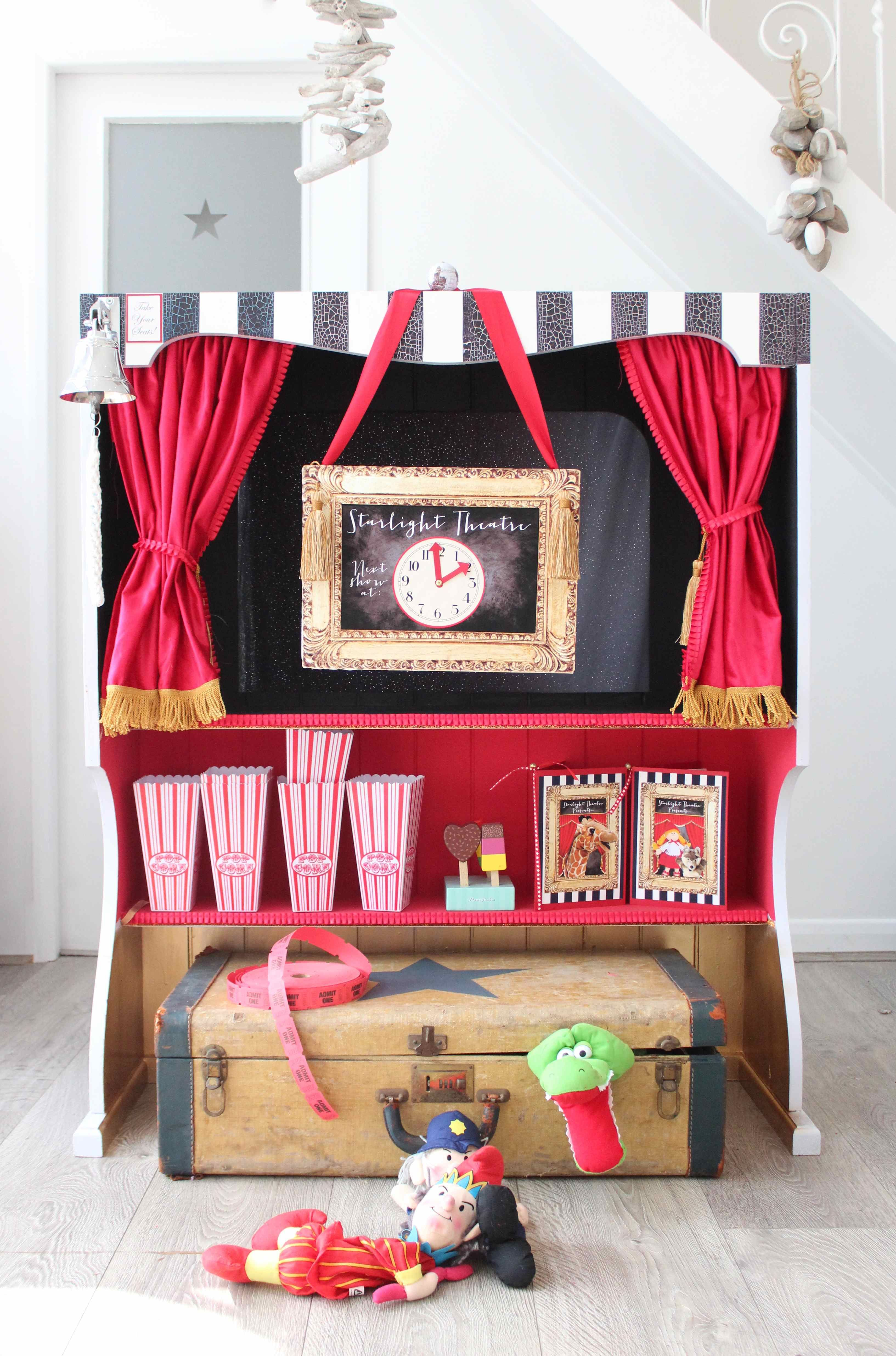 welcome to the starlight puppet theatre! (how to make a home puppet