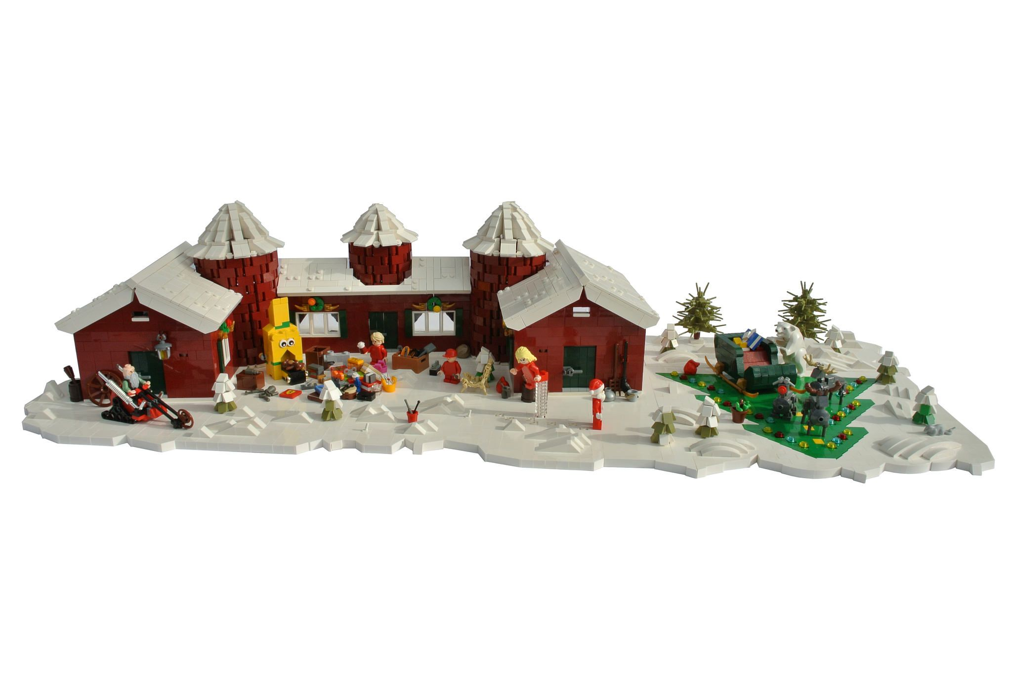 """Hello everybody :)   Today I finally finished my latest MOC so far - it shows the house of Santa Claus in the tv series """"The secret world of Santa Claus"""" (in Austria the series is called Weihnachtsmann & Co KG). Due to the fact that I´m participating in a Lego Exhibition in Mondsee (Austria) in December I decided to make that christmas themed MOC.   I always loved watching that series when I was child , that´s the reason why I´ve always wanted to a MOC starring that series. Here´s a link to…"""