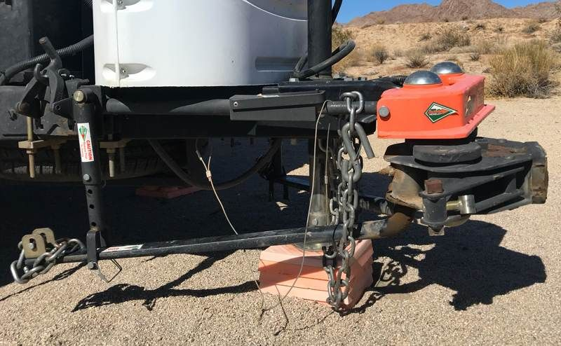 Marshall's Hensley Hitch Weight distribution hitch
