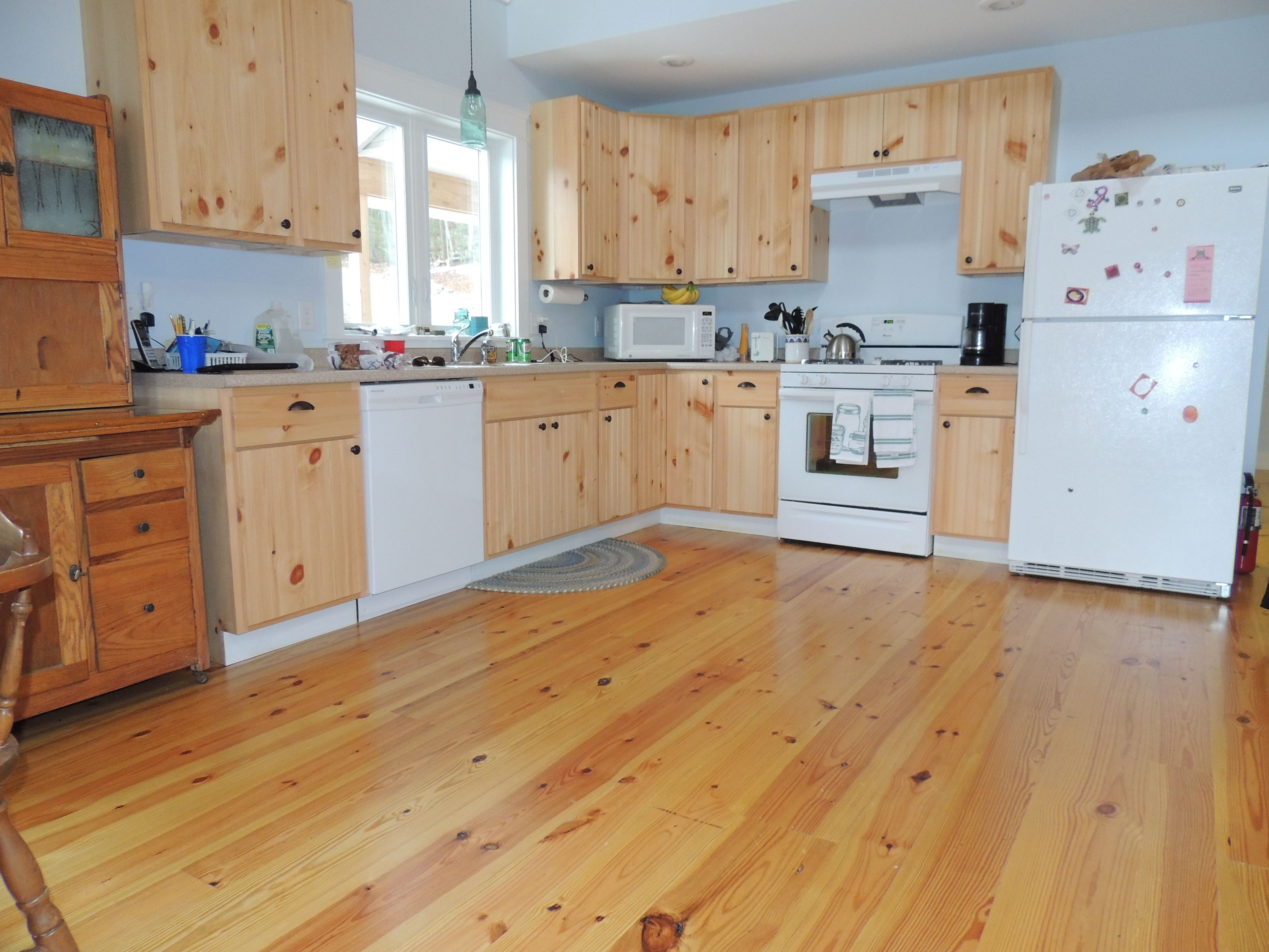 Premium Grade Heart Pine Flooring With A Tung Oil Finish