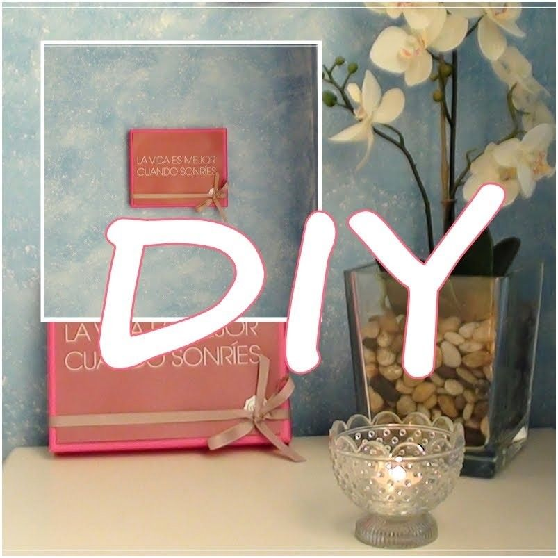 DIY DECORACION ♥ recicla tu glossybox