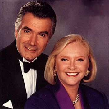 John McCook (Eric Forrester) & Susan Flannery (Stephanie Forrester ) -The Bold and the Beautiful