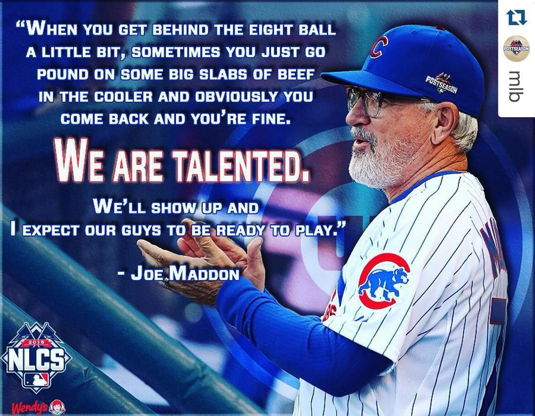 See This Instagram Photo By Chicagocubsnation 2 519 Likes Chicago Cubs Fans Chicago Cubs World Series Joe Maddon