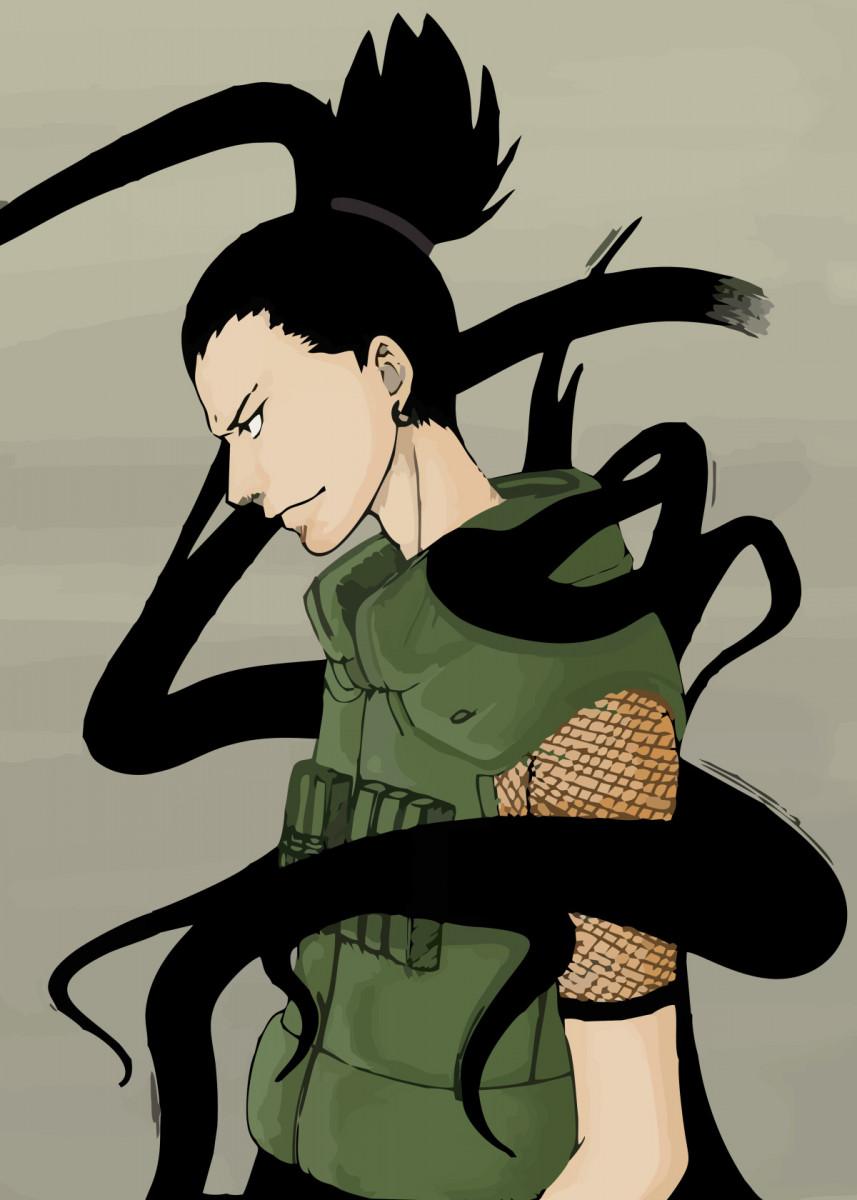Shikamaru Metal Poster Print Erick Sato Displate In 2021 Naruto And Shikamaru Shikamaru Wallpaper Naruto Shippuden