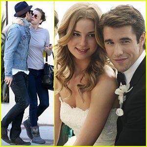 Emily VanCamp & Josh Bowman: 'Revenge' Wedding Pictures ...