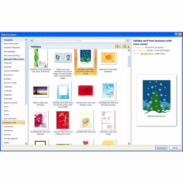 50 Unique Microsoft Word Greeting Card Template in 2020 ...