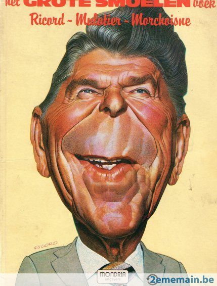ron reagan mulatier caricatures amp artistic likenesses